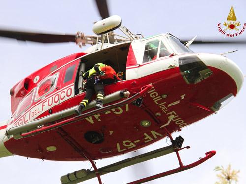 Elicottero Drago 84 : Il giornale di rieti cronaca dispersi sul monte