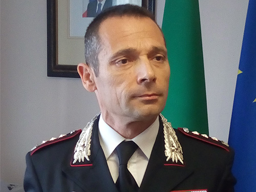 Il Colonnello Simone Sorrentino