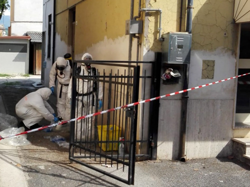 Rieti, trovate morte due persone in via Rosatelli